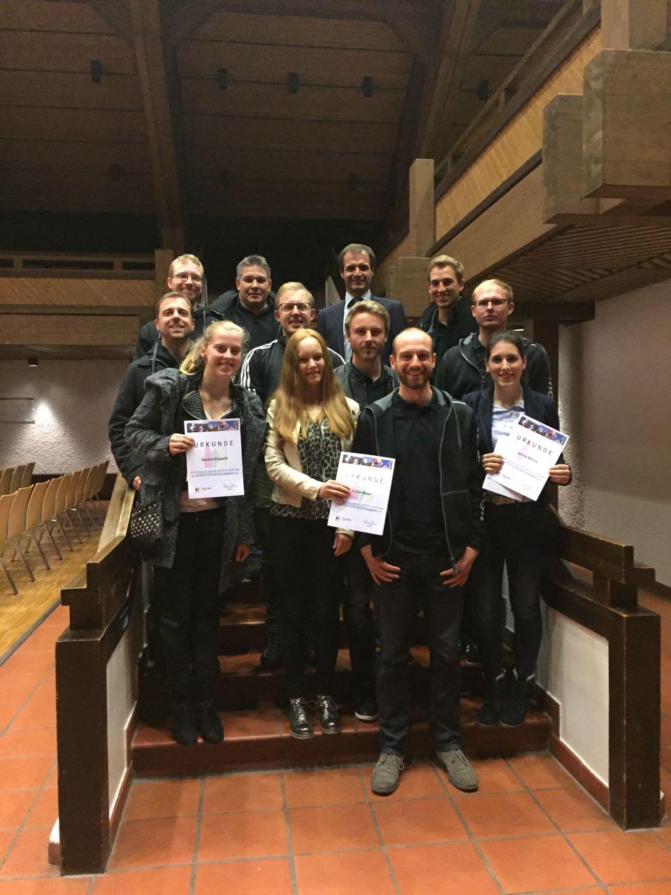 Sportlerehrung Plochingen 2017
